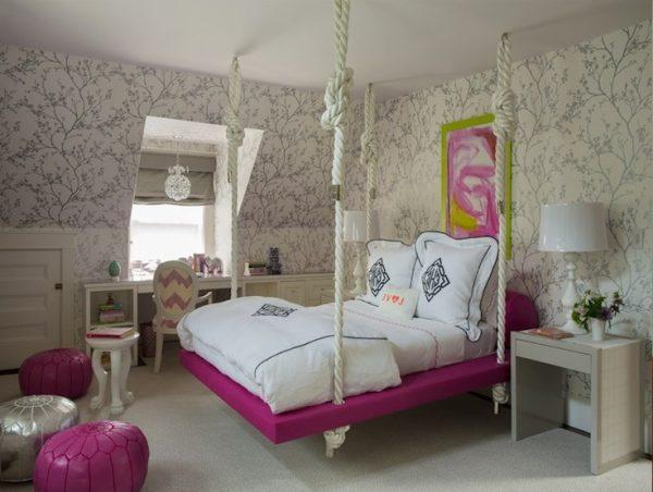 Hanging bed designs