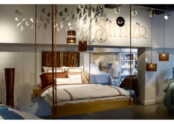 Irresistible Charm Of Bed Hanging From Ceiling Little