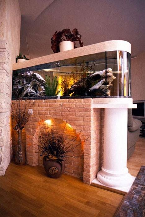 aquarium for home decoration