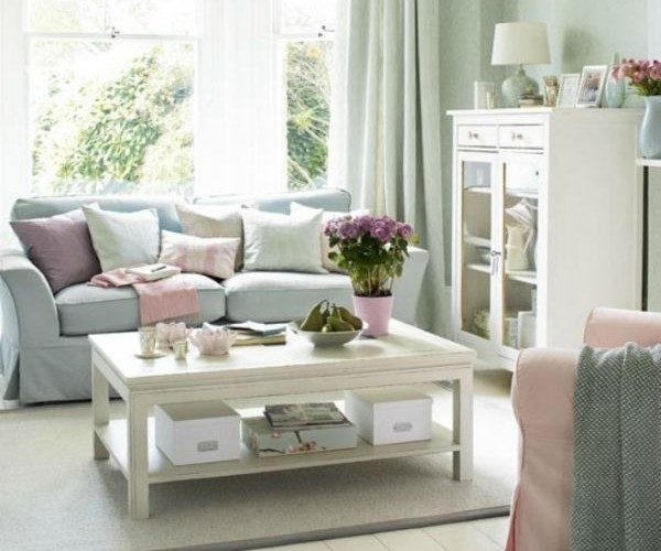 pastel sofas