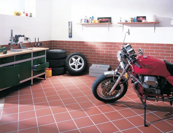 ceramic garage floor tiles