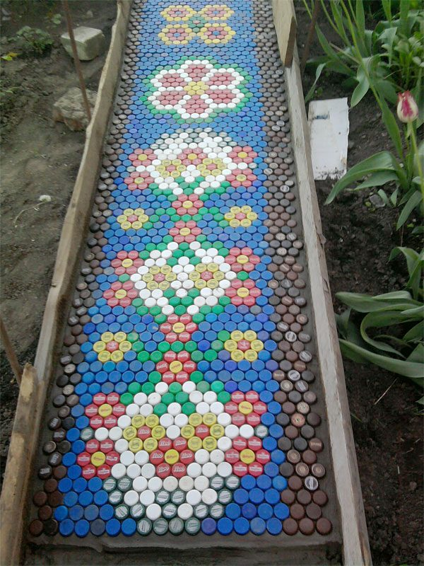 mosaic garden paths