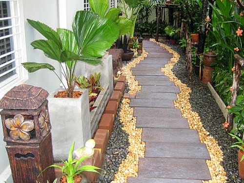 garden path edging ideas