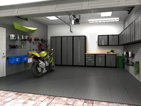 Garage floor ideas little piece of me Two floor garage