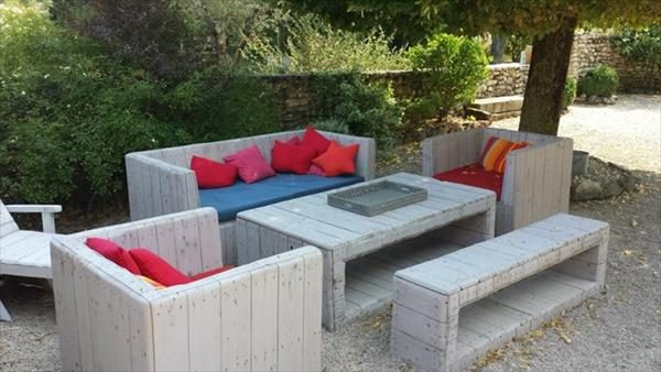 recycled garden furniture ideas
