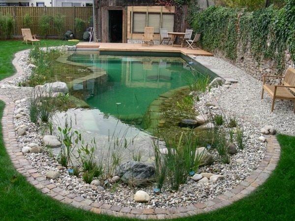 modern pond design
