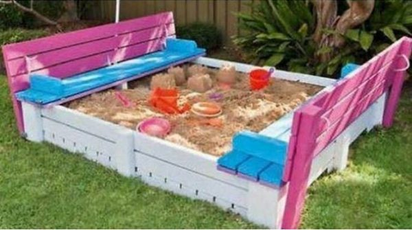 outdoor sand box