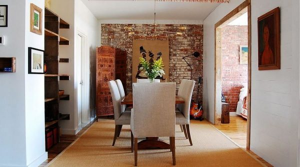 brick effect wall