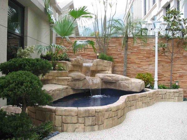 modern garden ponds