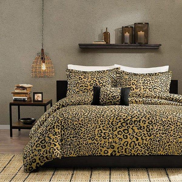 animal print bedroom decor