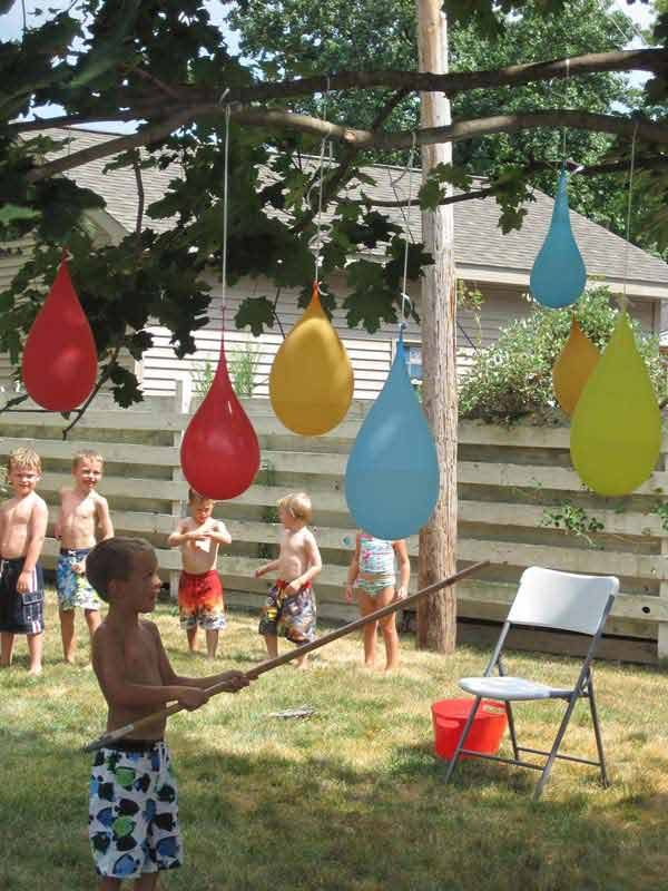 easy outdoor games for kids