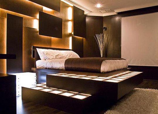 bedroom lights design