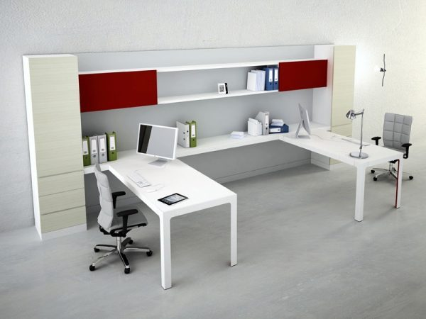 Modular home office furniture little piece of me for Home office desk systems