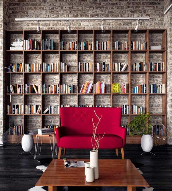 rooms with brick walls