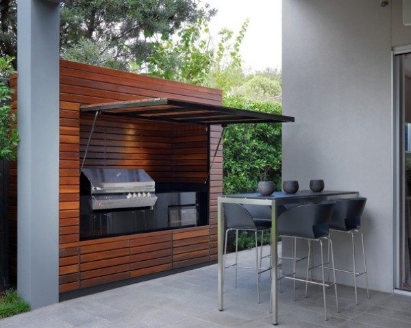 Outdoor kitchens designs little piece of me for Outdoor kitchen designs for small spaces