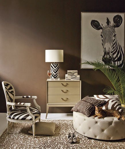 animal print decorating ideas