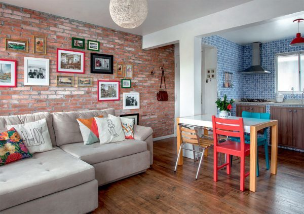 brick wall decor