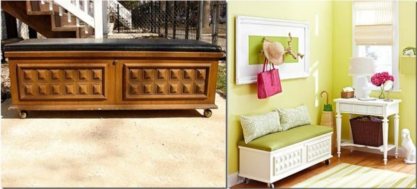 Furniture Makeovers Before And After Little Piece Of Me