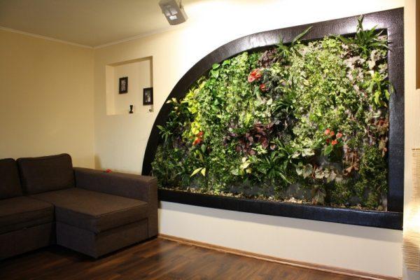living plant walls