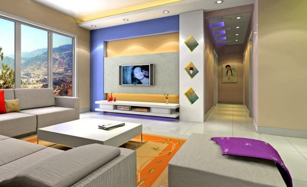 color combination for living room
