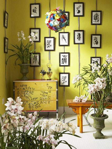 picture frame wall decor ideas