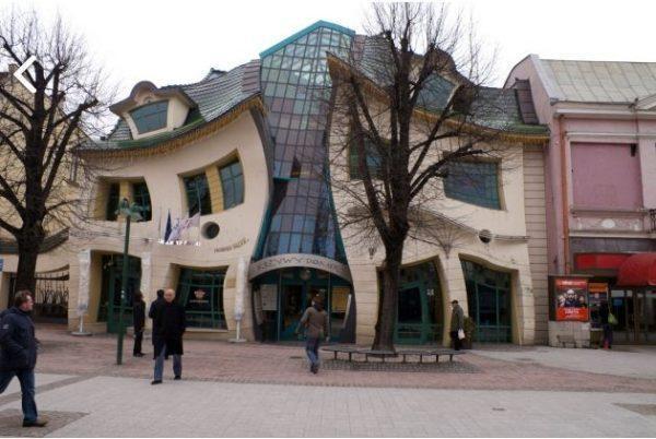 unique building