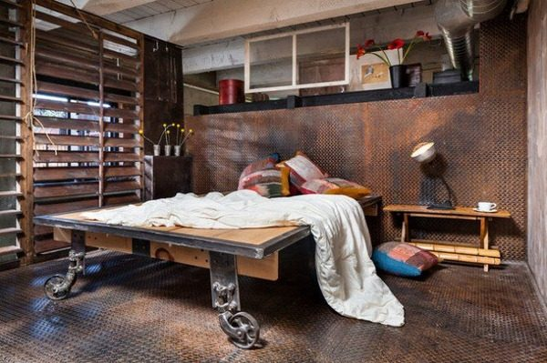 industrial style bedroom furniture