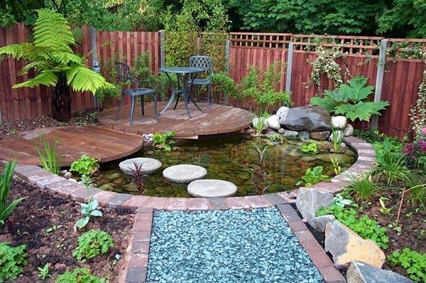 15 Beautiful inspiring garden pond design ideas - Little ...