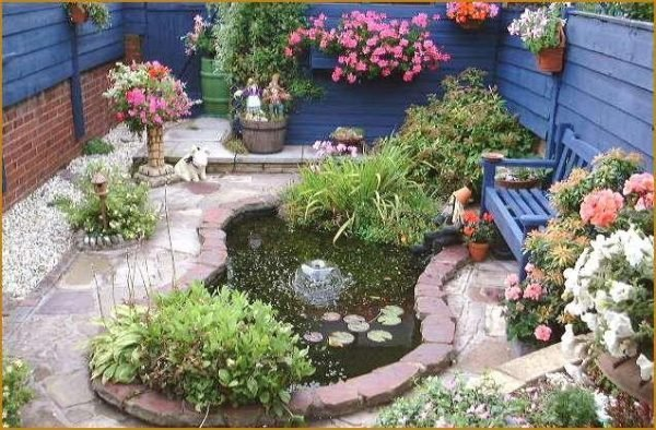 pond designs for small gardens