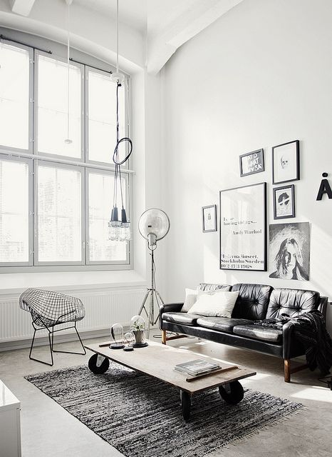 interior design industrial style