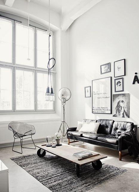 interior design industrial style