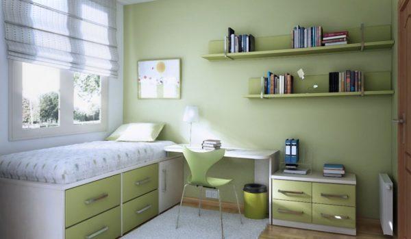 pale green colour