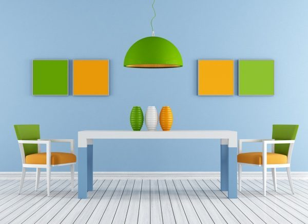 dining room color trends