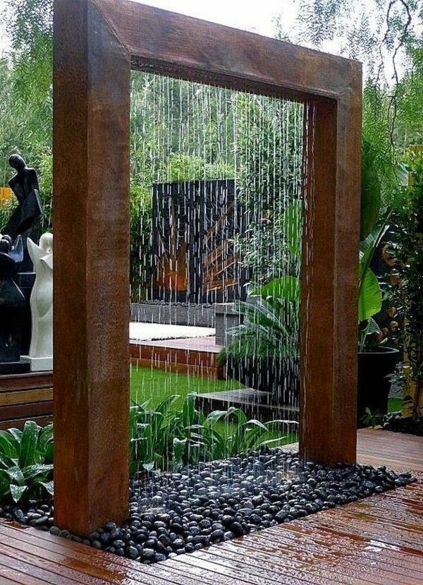 Outdoor shower designs