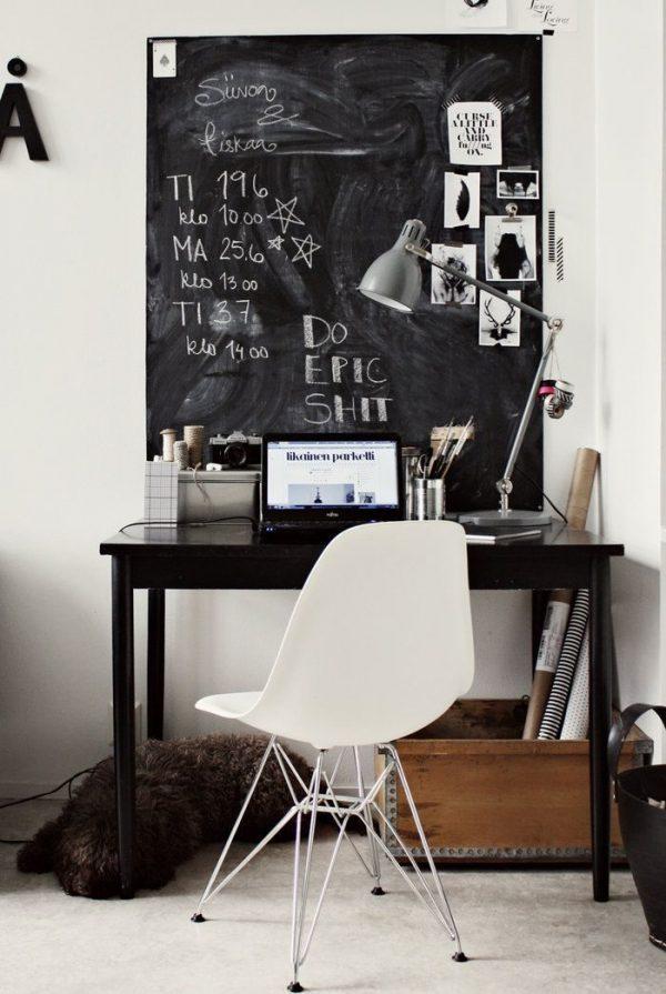 Chalkboard home decor