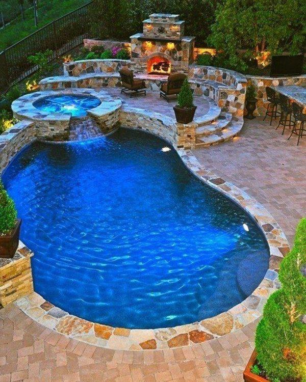 15 amazing backyard swimming pool designs little piece of me for Pool design names