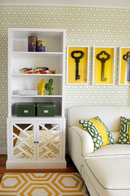 large key wall decor