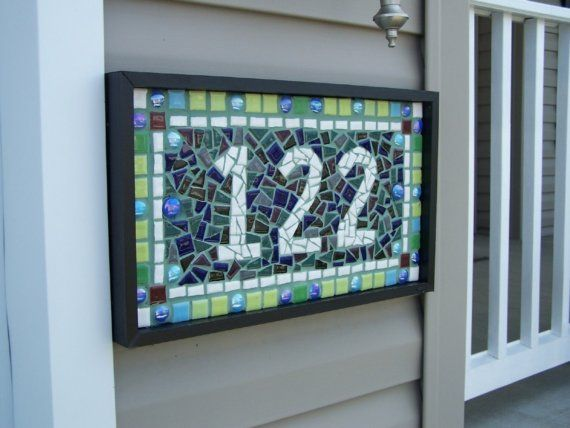 arts and crafts house numbers