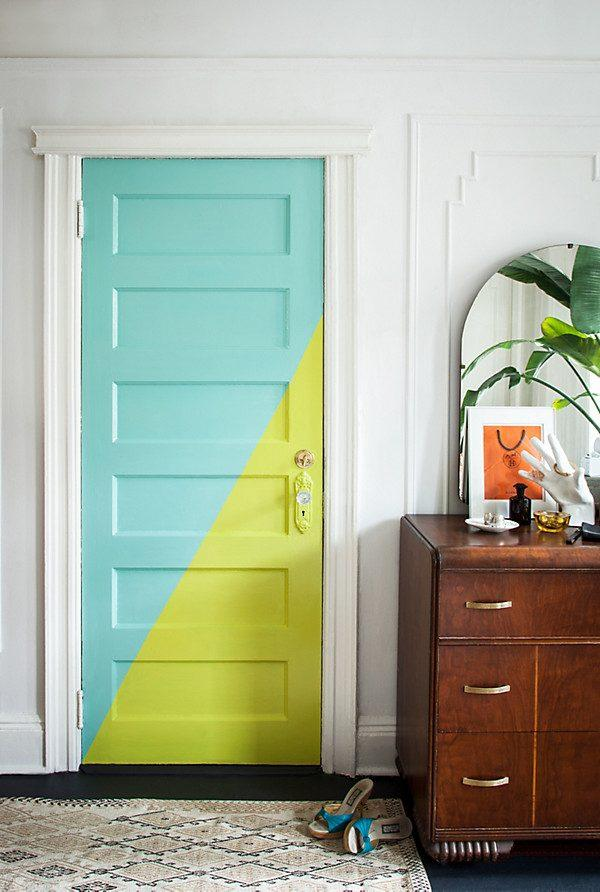 Interior Door Painting Ideas Part - 32: Interior Door Paint Ideas