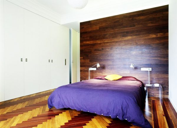 laminate floor on walls