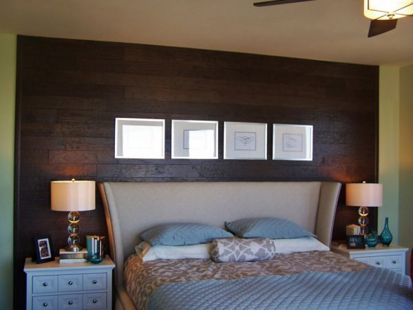 using laminate flooring on walls