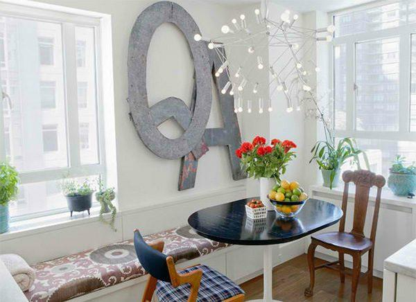 decorating with letters