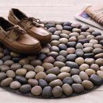 Stones for decoration – 16 home stones decoration ideas