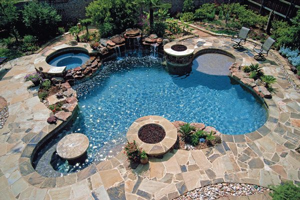 Ordinaire Backyard Swimming Pool Designs