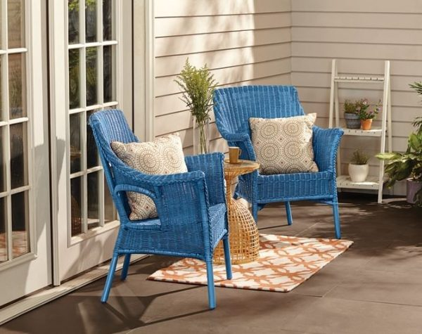 wicker porch furniture