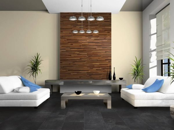 Laminate flooring on walls