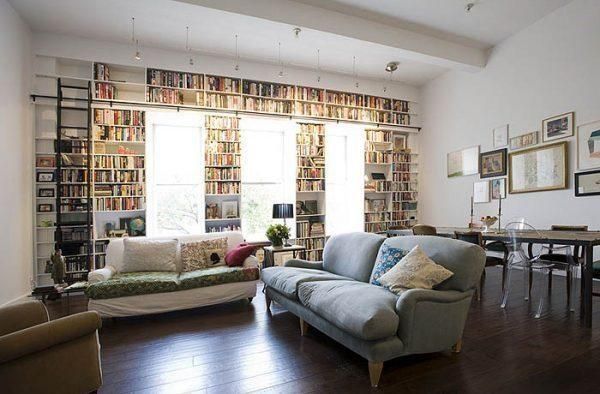 home library organization