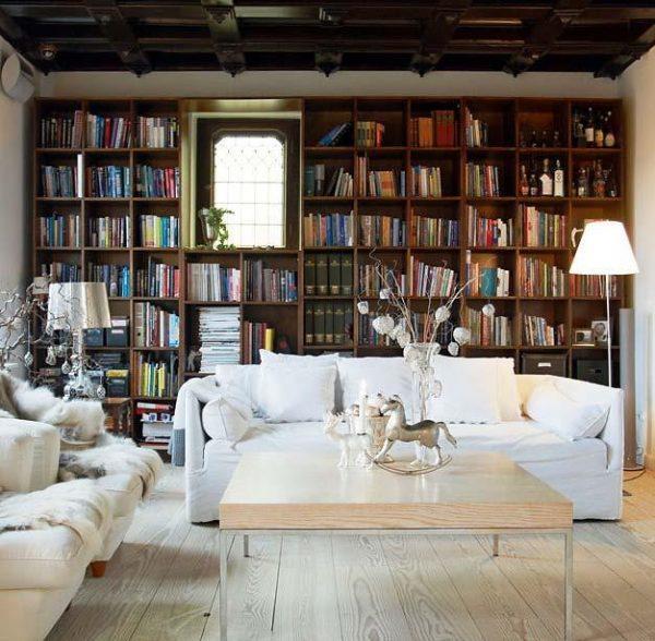 home library bookshelves
