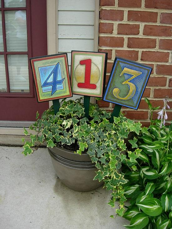 unusual house numbers