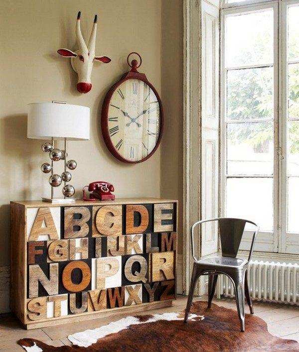 letters for decoration
